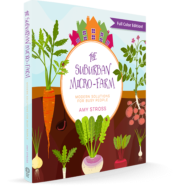 The Suburban Micro-Farm Book Cover