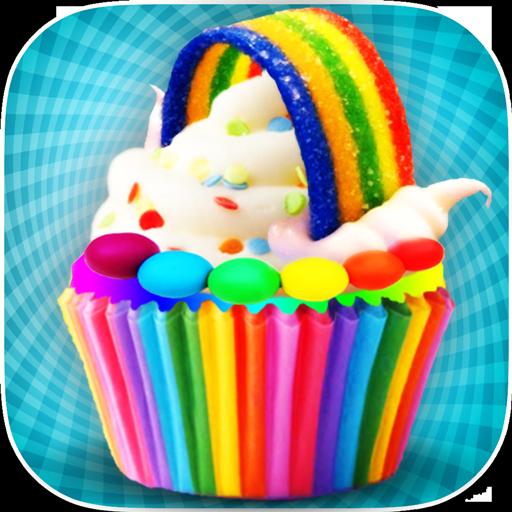 DIY Rainbow Cupcake Maker - Kids Cooking Game