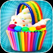 Game DIY Rainbow Cupcake Maker - Kids Cooking Game APK for Windows Phone