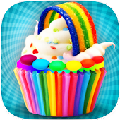 DIY Rainbow Cupcake Maker - Kids Cooking Game