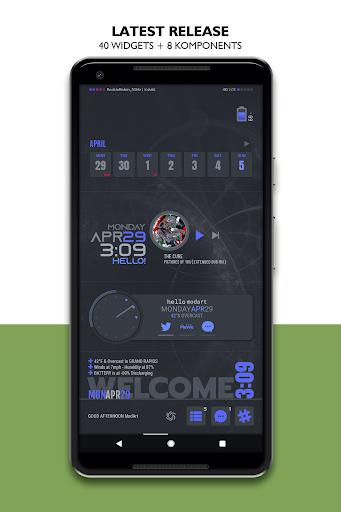 PC u7528 ModArt Widgets for KWGT-KLWP-KLCK 2