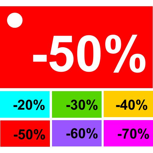 percentage calculator Icon