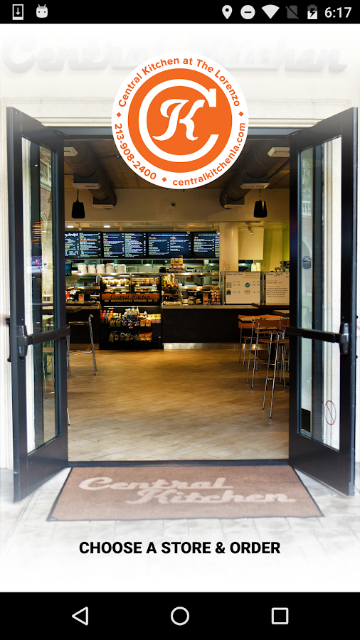 Central Kitchen at the Lorenzo - Android Apps on Google Play