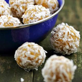 No-Bake Peanut Butter Coconut Balls.