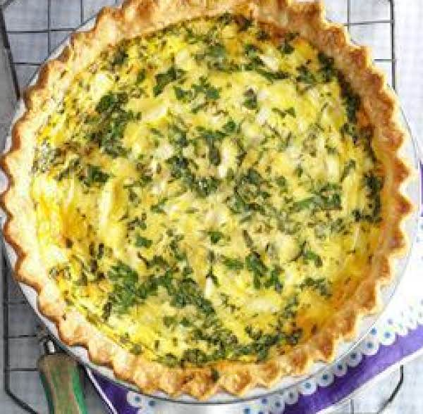 Cheese And Fresh Herb Quiche Recipe