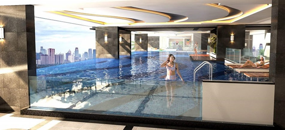 Harbour Park Residences, Mandaluyong pool