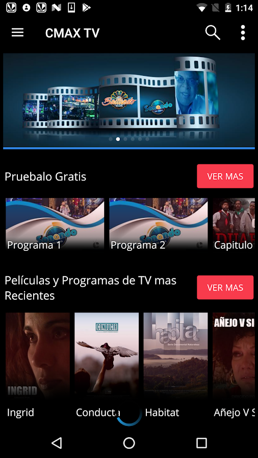 CMAX TV- screenshot