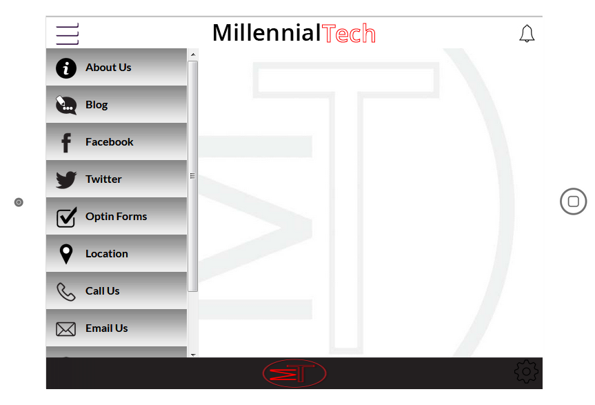 Millennial Tech Services- screenshot
