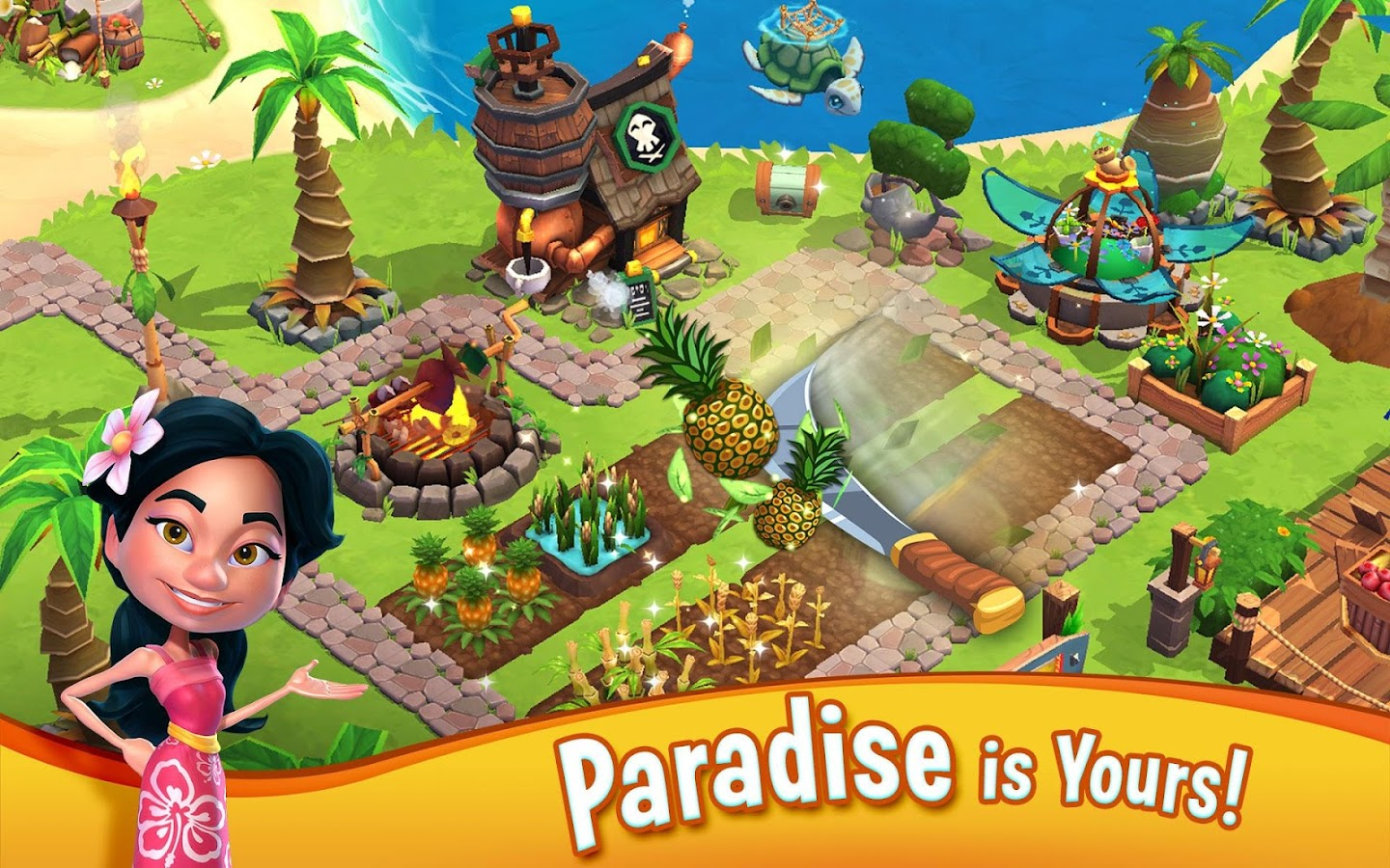 Screenshots of Paradise Bay for iPhone