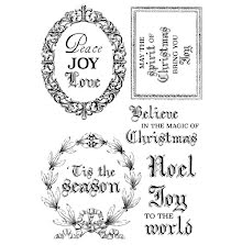 Kaisercraft Clear Stamps 6X4 - Letters To Santa UTGÅENDE
