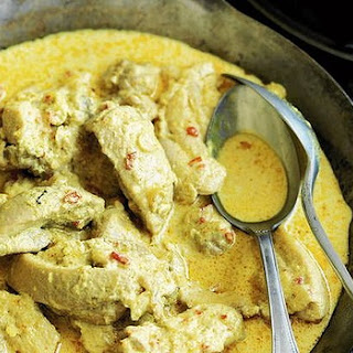Chicken Kapitan With Fragrant Rice