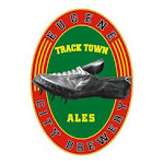 Logo of Track Town Honey Wheat Orange