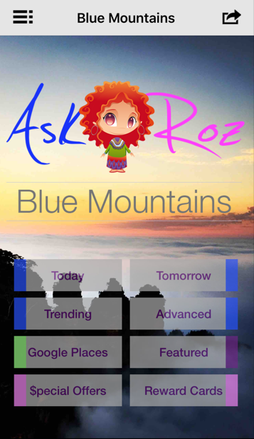 Ask Roz Blue Mountains- screenshot