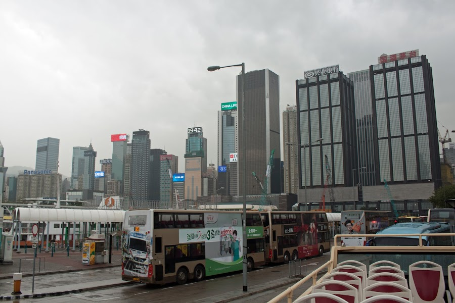 Две китайские не-страны: Гонконг и Taйвань (Тайпей). Март 2017