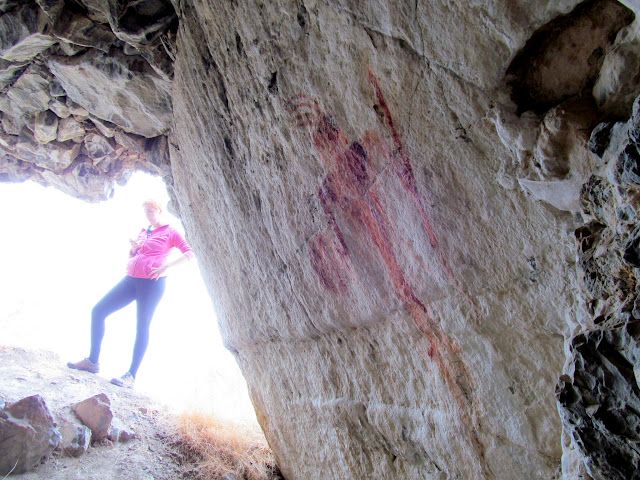 Pictograph with Dollie for scale
