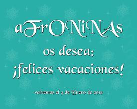 Photo: aFrONiNAs vacaciones de diciembre 2011