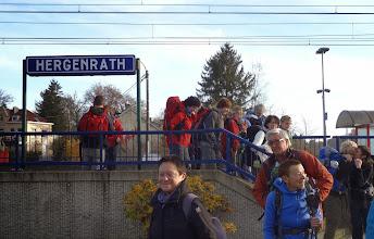 Photo: Sinds de heropening van deze treinhalte, is dit een zeer populair vertrek- of eindpunt van Schampaviewandelingen.