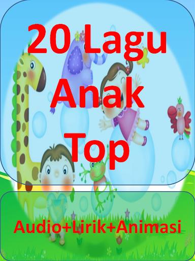 Lagu Terpopuler Anak Indonesia