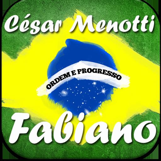 César Menotti e Fabiano palco
