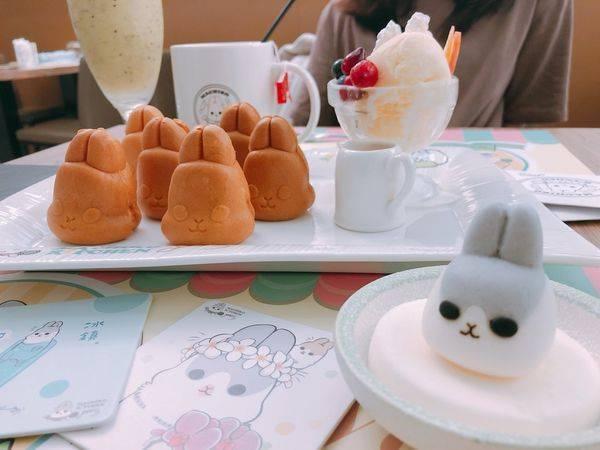 ㄇㄚˊ幾兔主題餐廳✿萌萌的ㄇㄚˊ幾兔主題餐廳退燒了~免排隊的可愛午茶!
