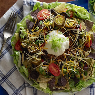 How To Make A Taco Salad, Fully Loaded