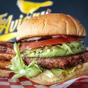 Beyond Meat Guacamole and Jalapeño Burger