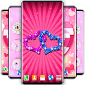 HD Girly Live Wallpaper ❤️ Pink 4K Wallpapers icon