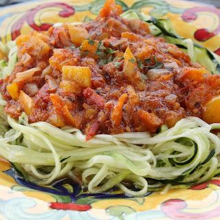 Garden Fresh Spaghetti Sauce Recipes