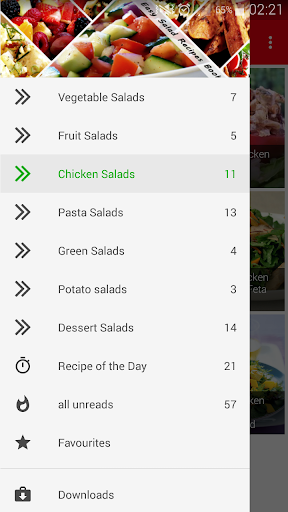 Easy Salad Recipes Book