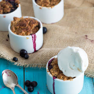Mini Berry Cobblers.