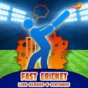 Fast Cricket Live Scores icon