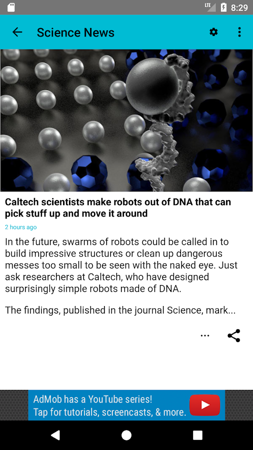 Science News Channel- screenshot