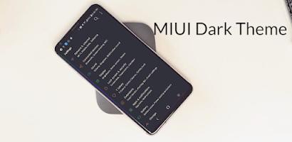 MIUI Dark Theme LG V20 G6 G5 V30 Oreo - Paid Android app