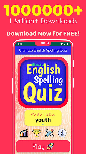 Ultimate English Spelling Quiz : New 2020 Version android2mod screenshots 1