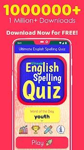 Ultimate English Spelling Quiz : New 2020 Version 1