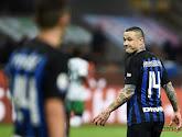 Radja Nainggolan was niet tevreden met de reactie van de Inter fans