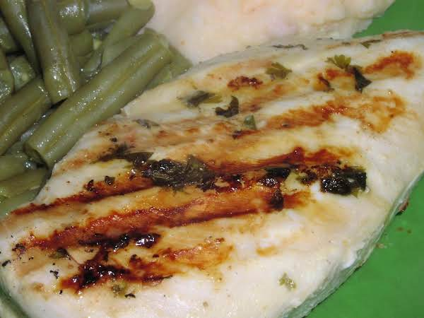 Herb-mustard Grilled Chicken Recipe