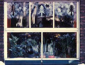 Photo: Weihnachtliches Erkerfenster