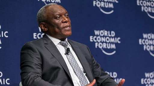 Telecoms and postal services minister Siyabonga Cwele. (Photo source: WEF)
