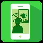 视频通话应用程序 icon