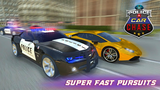Police Car Chase : Hot Pursuit  screenshots 1