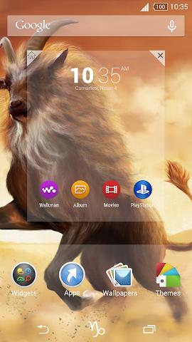android For Xperia Theme Capricorn Screenshot 3