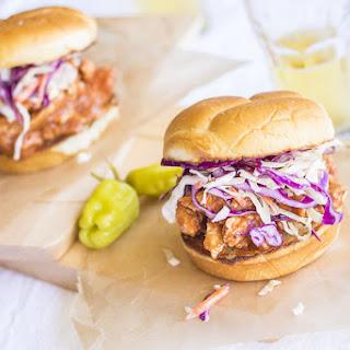 Carolina BBQ Chicken Sliders
