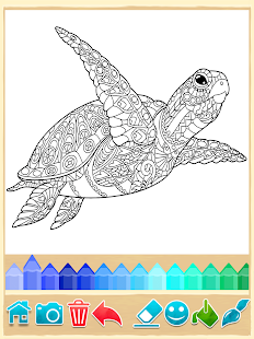 Mandala Coloring Pages Screenshot Thumbnail