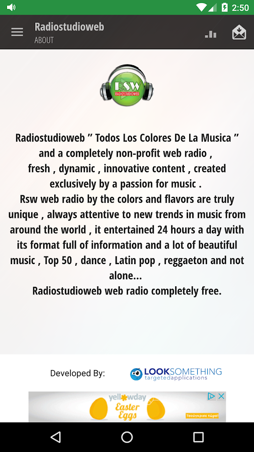 Radiostudioweb- screenshot