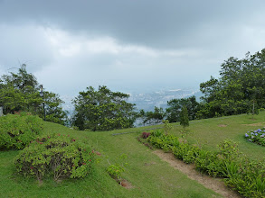 Photo: George Town, Penang - hiking to Penang hill, view from the top from historical building