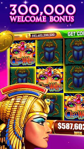 Slots! Cleo Wilds Slot Machines & Casino Games 1.06 screenshots 1