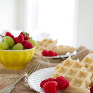 Gluten-free and Sugar-free Waffles