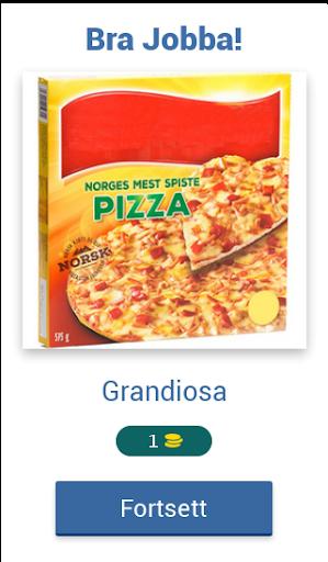 Norsk Mat Quiz: Gjett Kjente Matvarer fra Butikken apktram screenshots 2