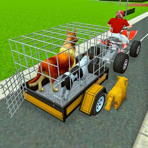 Atv Bike Trolley: Animal Transport Simulator